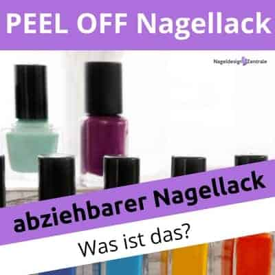 was ist peel off oder abziehbarer nagellack nageldesign zentrale. Black Bedroom Furniture Sets. Home Design Ideas